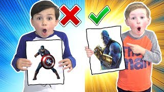 Avengers 3 Marker Challenge