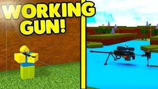 GUNS in BUILD A BOAT (IT SHOOTS!) | ROBLOX