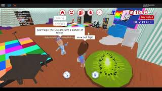 playing with Georgia562 ROBLOX and paige the unicorn!