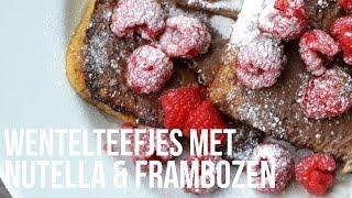 Wentelteefjes Met Nutella En Frambozen - Ohmyfoodness