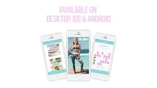 My Fitness App is OUT! BURN by Rebecca Louise | Rebecca Louise
