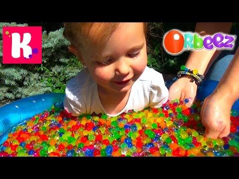 ORBEEZ бассейн с разноцветными шариками/ Орбиз Challenge