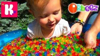 ORBEEZ бассейн с разноцветными шариками Орбиз Challenge super sour Warheads(, 2015-06-29T17:26:56.000Z)