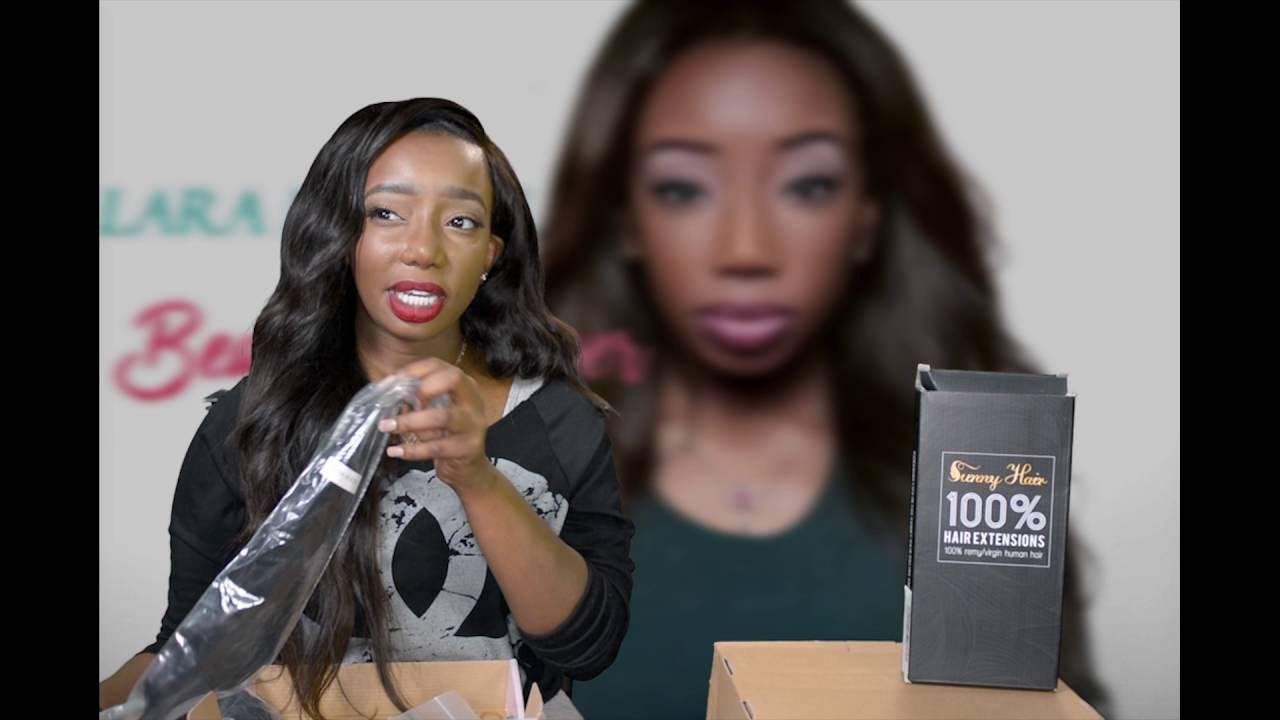 Amazon Hair Review Unice Virgin Malaysian Sunny Hair Lace Frontal