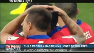 Chile recibiría 8.5 millones de dólares si gana la Copa América 2015