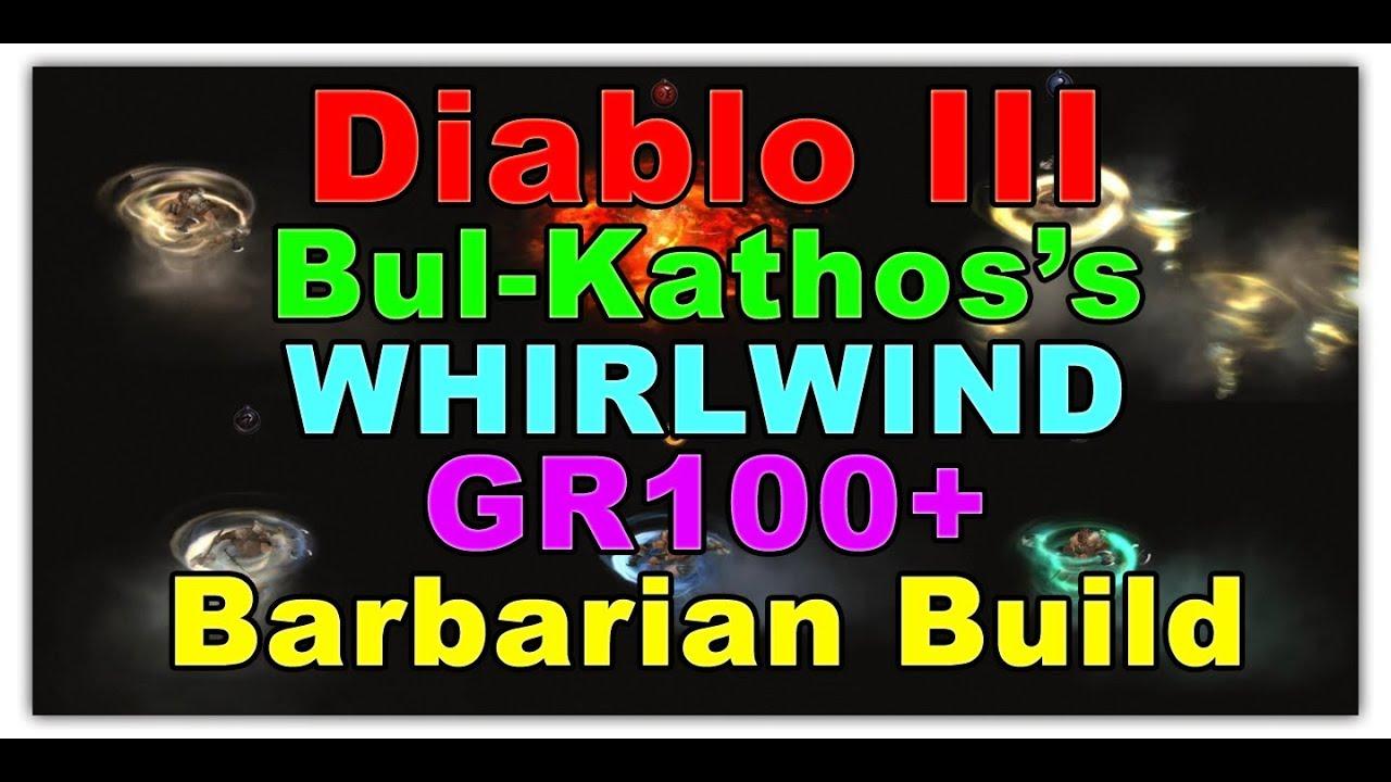 Diablo  Barbarian Ww Build