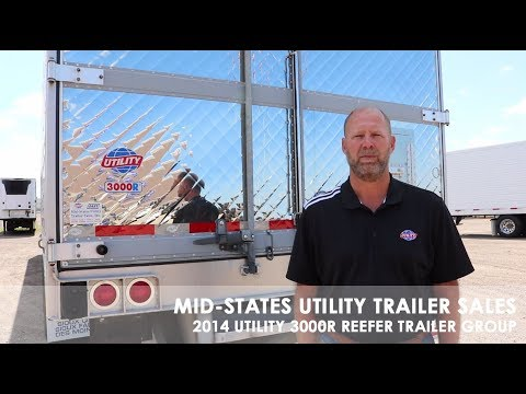 2014 UTILITY 3000R REEFER TRAILER GROUP