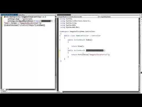 DevExpress ASP.NET MVC: ImageGallery