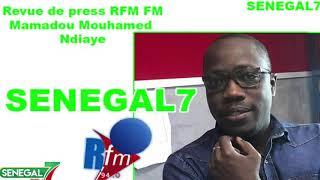 Revue de presse Rfm Wolof du 14 Aout 2019 avec Mamadou Mouhamed Ndiaye