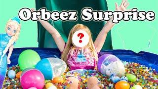 ORBEEZ FROZEN Disney Frozen World's Largest Orbeez Party Surprise Egg Video
