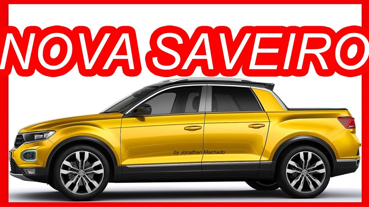 RENDER Nova #Volks #Saveiro 2019 Rival da #Fiat #Toro & # ...