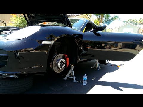 987 Cayman S Brake and Clutch Bleed