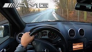 Mercedes ML63 AMG 2011 POV Drive & Start Up 503HP V8, 155MPH YouDrive
