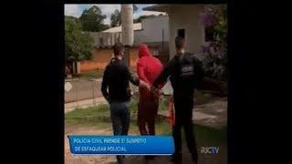Polícia Civil prende terceiro suspeito de esfaquear policial em Chapecó