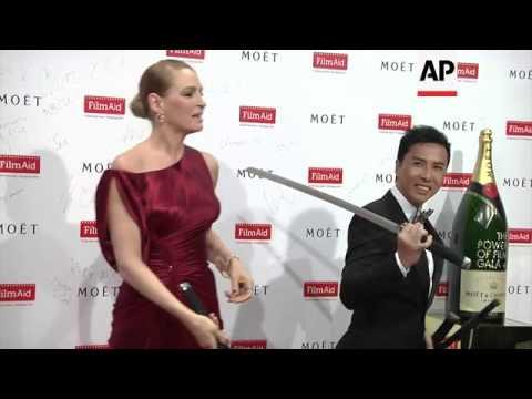 Uma Thurman and Donnie Yen attend Power of Film Gala Dinner thumbnail