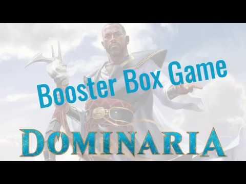 MTG Russian Dominaria Booster Box Opening Game/MTG Доминария вскрытие дисплея бустеров