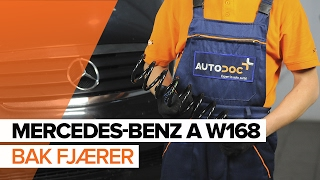 Videoveiledning for nybegynnere med de vanligste Mercedes A-Klasse W176-reparasjonene
