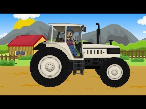 ☻ Farm Work Farmer - Plow |  Fairy Tractors & Bajka Dla Dzie