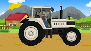 ☻ Farm Work Farmer - Plow |  Fairy Tractors Part 5 ☻