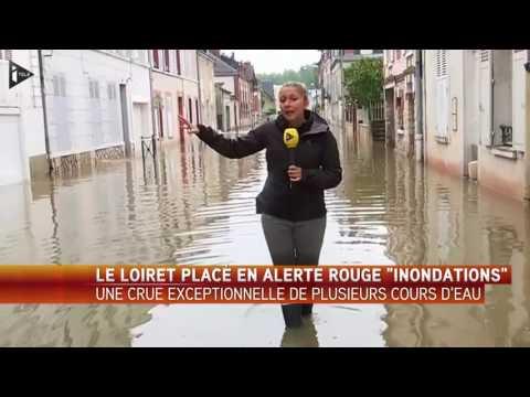 Inondations : Alerte rouge dans le Loiret