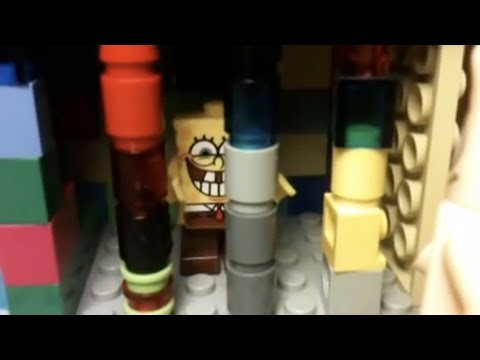 Lego SpongeBob Goes to JAIL