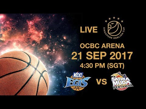 Basketball 🏀 Jeonju KCC Egis 🇰🇷 vs 🇮🇩 Satria Muda Pertamina | Singapore Merlion Cup 2017