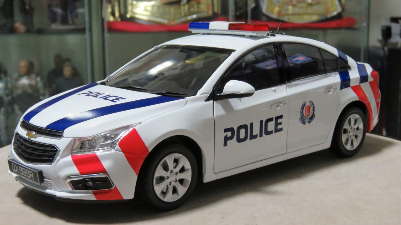 1 18 Singapore Police Force Fast Response Car Chevrolet Cruze Ls