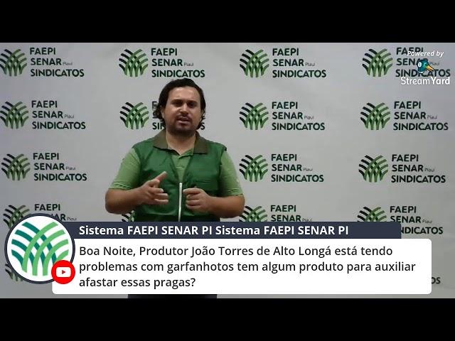 Webinar: Uso de Defensivos Naturais Para o Controle de Pragas em Hortas.