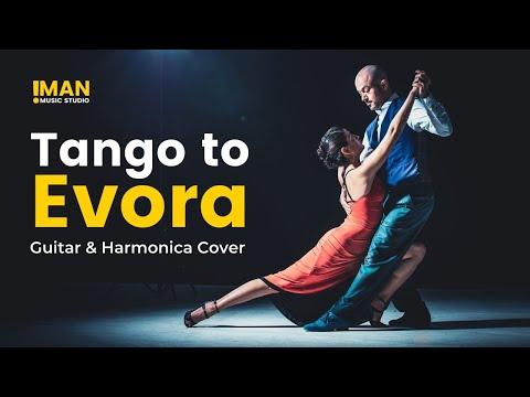 Tango To Evora,  Guitar and Harmonica cover,  گل ارکیده،  اجرای گیتار و سازدهنی