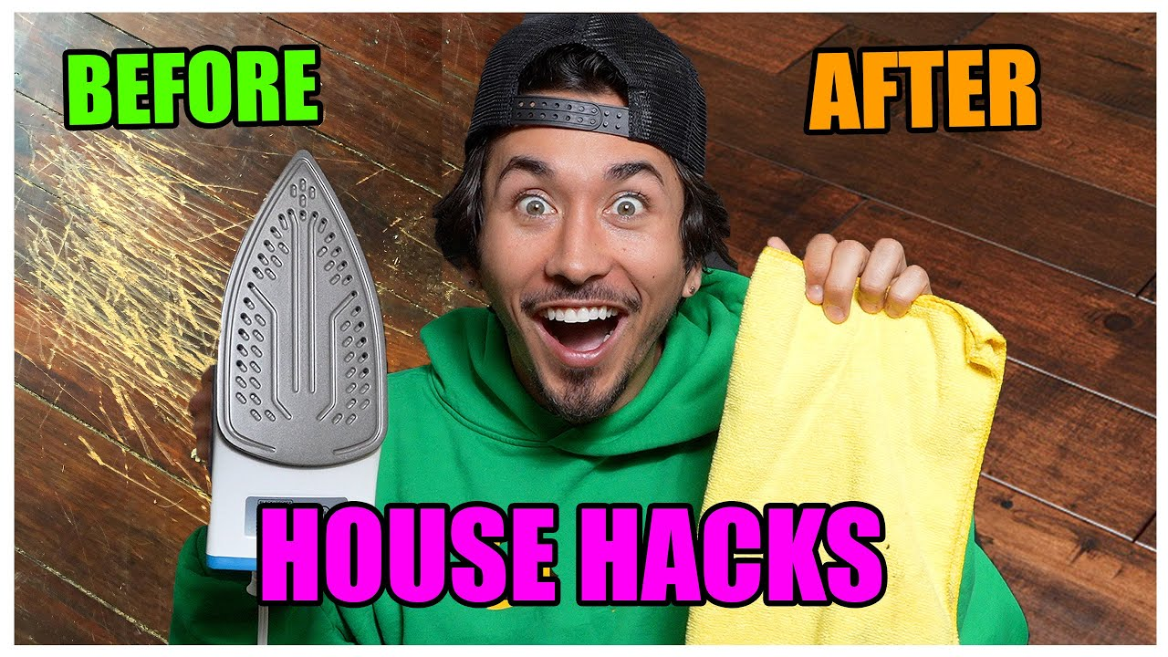 I Tested RIDICULOUS New Home Life Hacks.... (This is what happened)