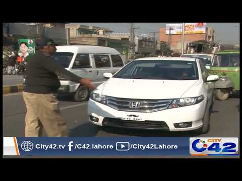 Excise targeted crack down with safe city authority against illegal number plates