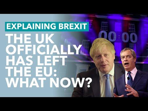 The UK Has Left the EU - Brexit Explained