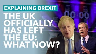 The Uk Has Left The Eu   Brexit Explained