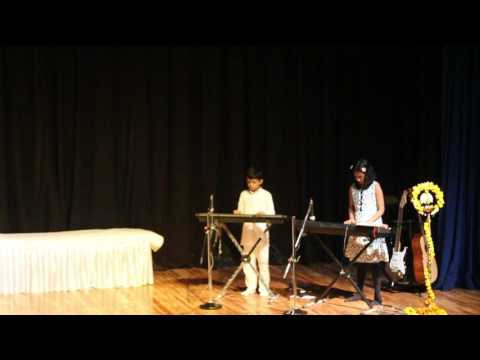 'I Am The Music Man' song by Sai Blessed Music School, Gurgaon in Annual Function, 2016