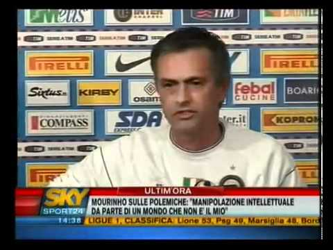 José Mourinho Conferenza Stampa 03.03.2009 ZERO TITULI! (With English Translation)
