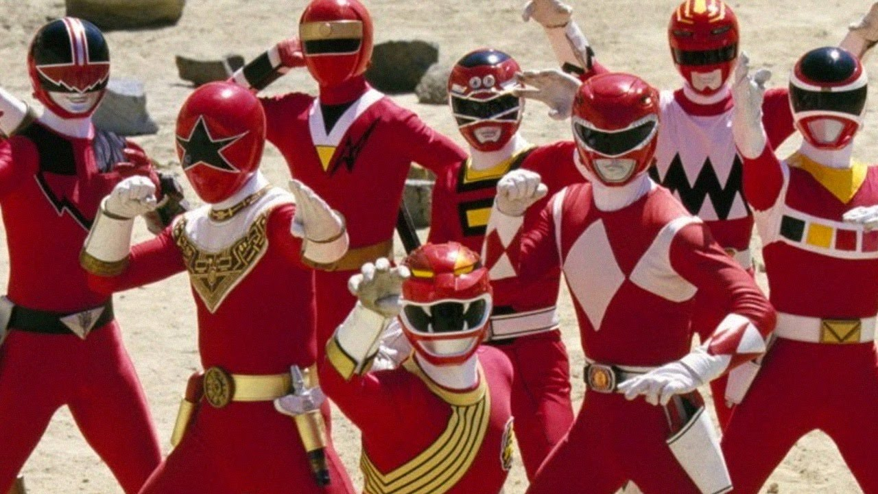 & A Visual History of Power Rangers Costumes - Up At Noon Live! - YouTube