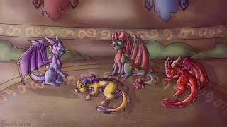 Naughty Guardians - The legend of Spyro Speedpaint
