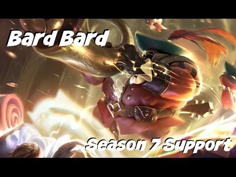League Of Legends: Bard Bard Support Gameplay