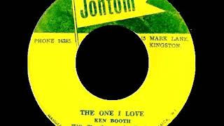 Ken Booth & The Supersonics Band - The One I Love /1967