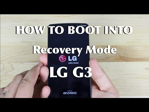 How To Boot Recovery Mode LG G3
