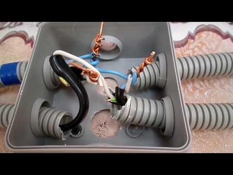 Схемы подключения выключателей и розеток. Наружная розетка. Как подключить выключатель света