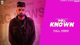 Well Known - Jimmy Wraich (Official Video)Jashan Nanarh/G Skillz - Latest Punjabi Song 2020