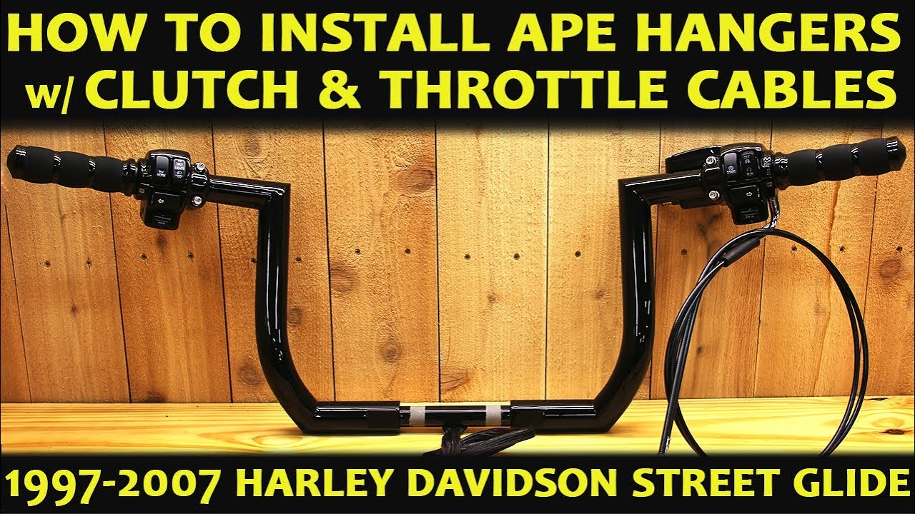 How To Install Ape Hangers on Harley Davidson Street Glide the Easy Method