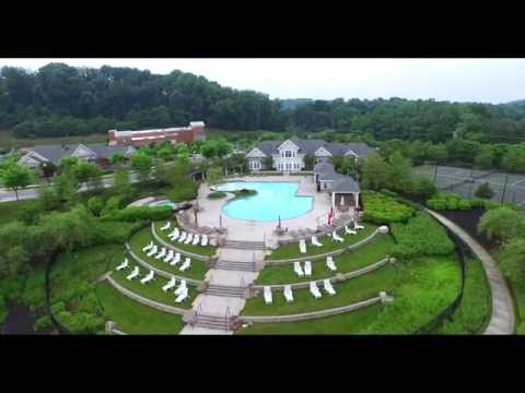 Phantom 3 afternoon flight over Quarry lake baltimore MD (watch on 4K if possible)