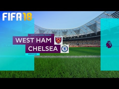 FIFA 18 - West Ham United vs. Chelsea @ London Stadium