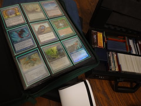 My Personal Magic The Gathering Collection Part 1 - MTG