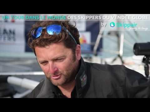 Arnaud Boissières - Comment ses proches vivent-ils sa participation au Vendée Globe
