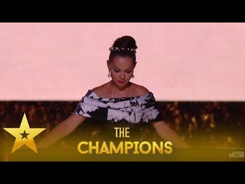 Kseniya Simonova: Ukrainian Sand Artist Leaves Simon Speechless!| Britain's Got Talent: Champions