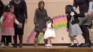 2012/03/03 ひな祭りの日に3才の娘の発表会です。 4月から幼稚園なの...