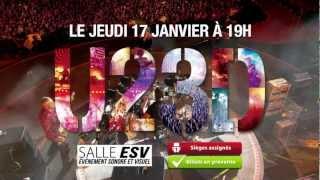 U2 3D Cinéma Carrefour du Nord